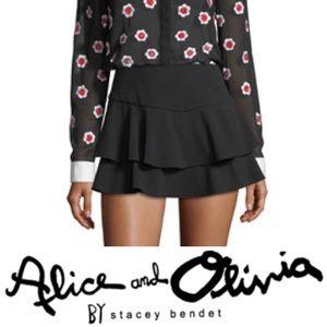 Alice + Olivia • Paloma Ruffle Skort • Brand New!